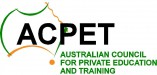 ACPET - Australian Council for Private Education and Training